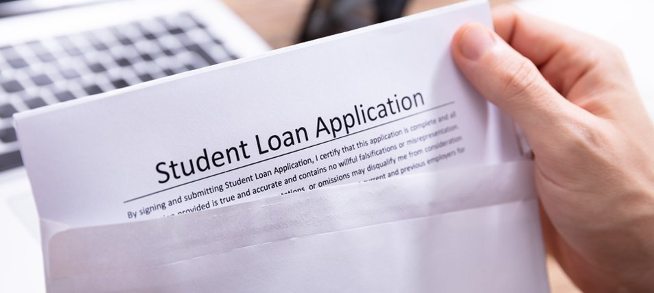 a student loan application